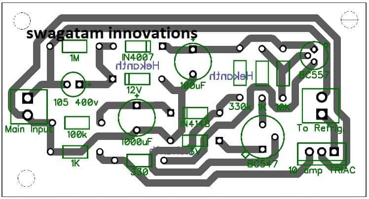 refrigerator protector PCB design