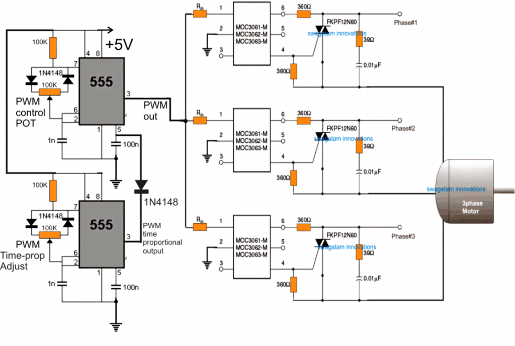 PWM induction motor control