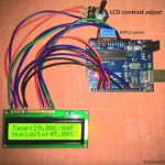 Digital Temperature, Humidity Meter Using Arduino