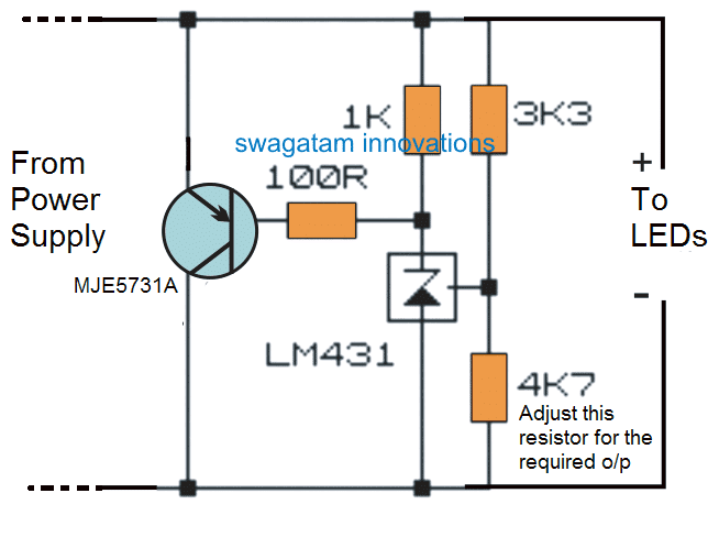 LED driver shunt regulator