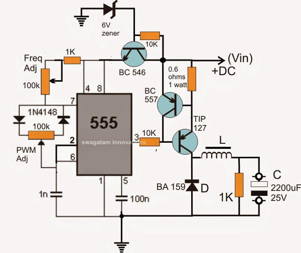 Simplest Buck-Converter Circuit