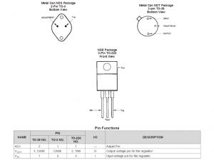 0-60V LM317HV Variable Power Supply