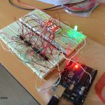 7 Segment Digital Clock Circuit Using Arduino