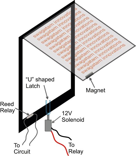Electronic Door for Pets Circuit