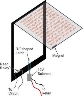 doormech - Electronic Door Circuit for Pets