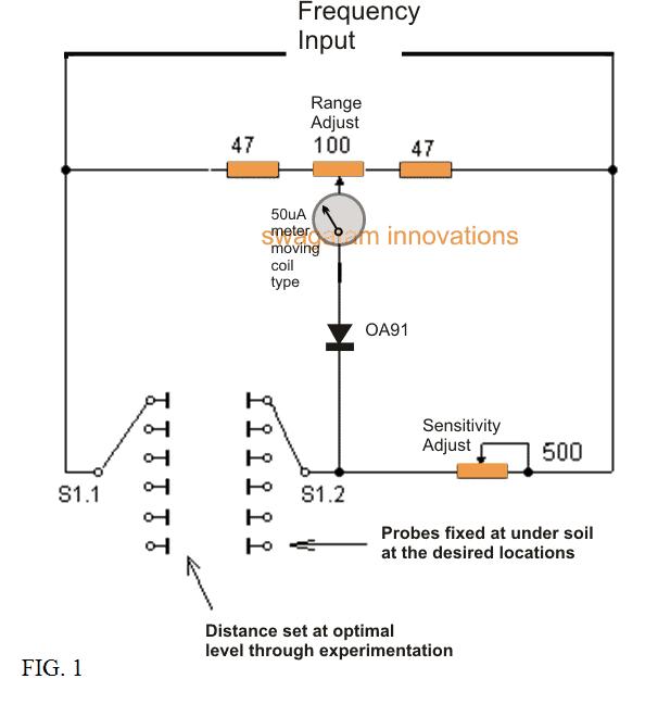 Deep Soil Metal Detector Circuit