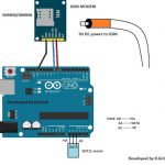 GSM Fire SMS Alert Circuit using Arduino