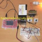 IC 555 Inverter Circuits – Push Pull, Full Bridge, Ferrite Core