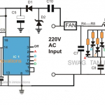 Remote Controlled Fan Dimmer Circuit