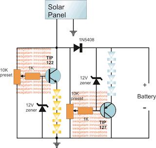 Sunrise Sunset Simulator LED Circuit