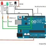 Password Security Lock Circuit Using Arduino and 4×4 Keypad