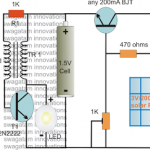 Solar Pocket LED Light Circuit