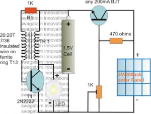 Solar Pocket LED Light