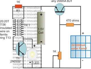 solar - Solar Pocket LED Light Circuit