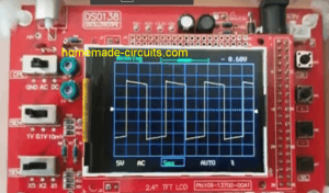 IC 555 inverter waveform image