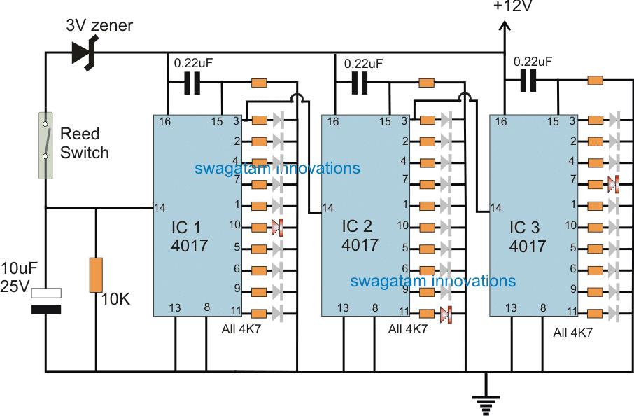 Transformer Winding Counter Circuit