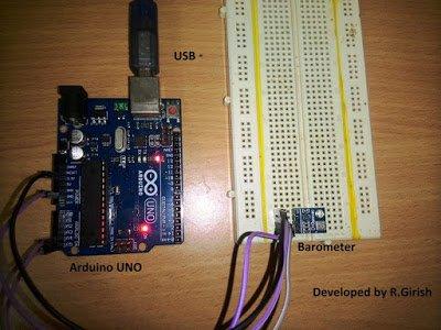 Barometric Pressure Sensor Prototype