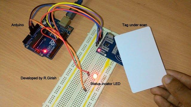 RFID Security Lock Circuit – Full Program Code and Testing Details
