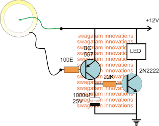 Foot Activated Staicase Light Circuit