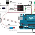 GSM Pump Motor Controller Circuit using Arduino
