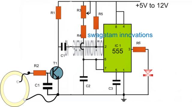 Intruder Position Indicator Security Circuit