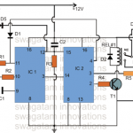 Automatic Food Warmer Lamp Timer Circuit for Hotels and Restaurants