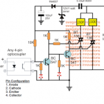 Automatic Triac Changeover Circuit for Inverter/Mains