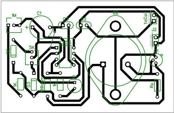 Wireless battery charger PCB design