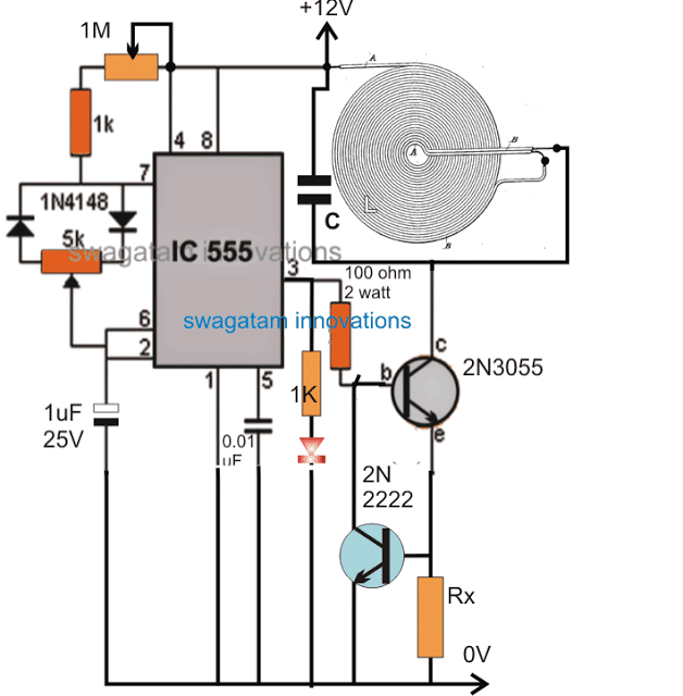 High Current Wireless Battery Charger Circuit