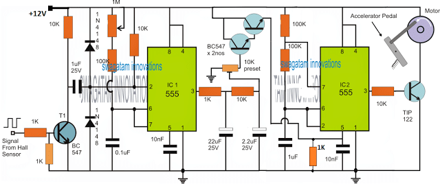 Electronic Engine Speed Governor Circuit
