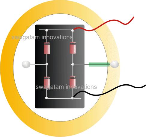 bridge rectifier for shoe electricity generator