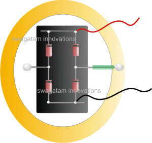 Piezo Mat Electricity Generator Circuit