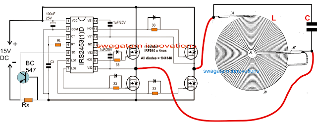 Induction Heater Circuit for Labs and Shops