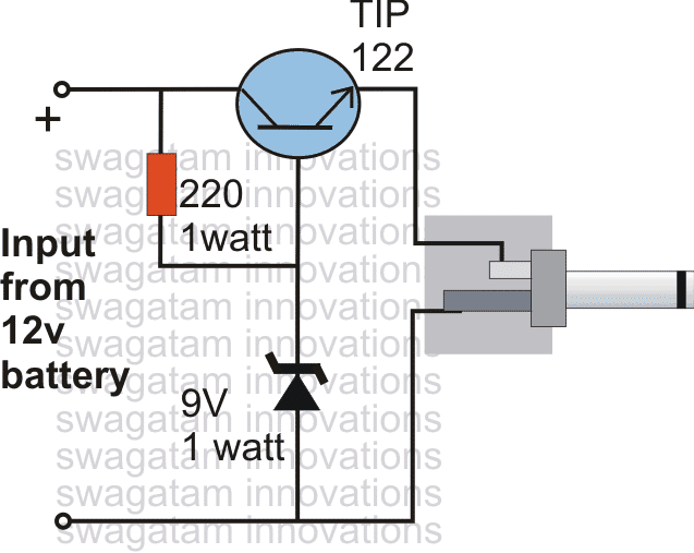 simplest DC cell phone charger circuit 1 - Emitter-Follower Transistor Application Circuits