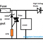 Surge Arrestor Circuit with Surge Measuring Facility