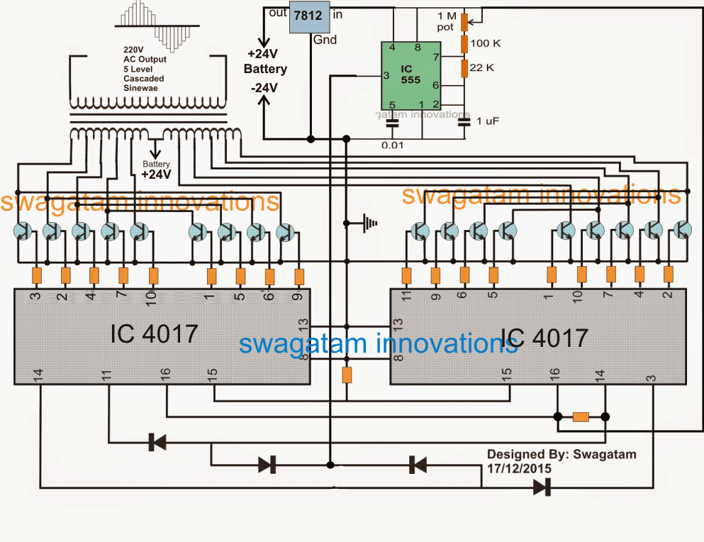 Simple Step-Inverter Circuit - Construction and Test Report