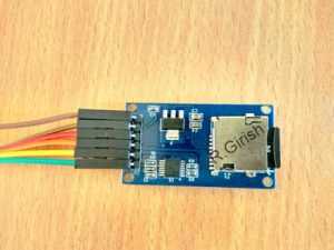 Interfacing SD Card Module for Data Logging