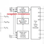 Digital Potentiometer Circuit using IC X9315