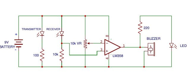 How to Connect an IR Photodiode Sensor in a Circuit