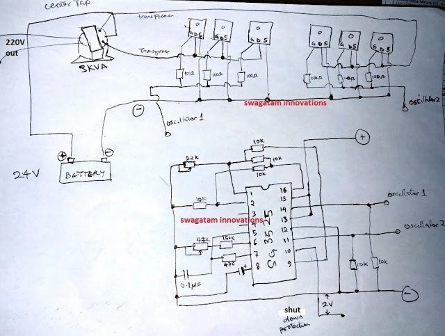 Sg on Simple Electronic Circuit Diagram