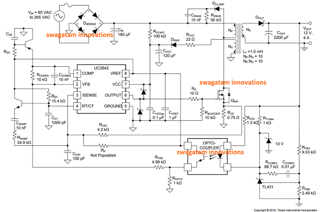 Adaptor 12V 10A Switching Power Supply