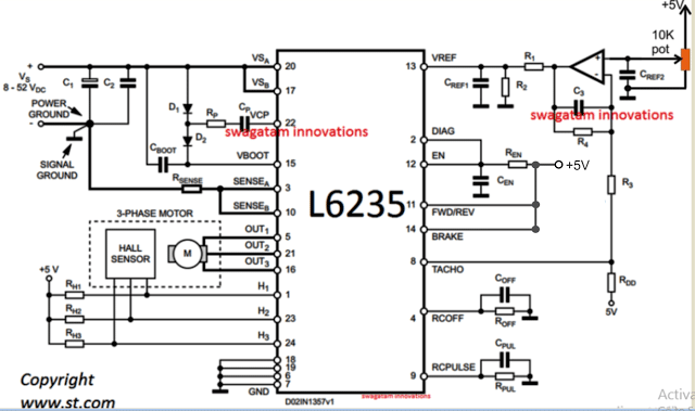 bldc ceiling fan circuit for power saving homemade circuit projects Mechanical Ceiling Fan Schematic