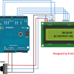 LCD Socket Timer Circuit Using Arduino