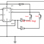 servo motor control using IC 555 circuit