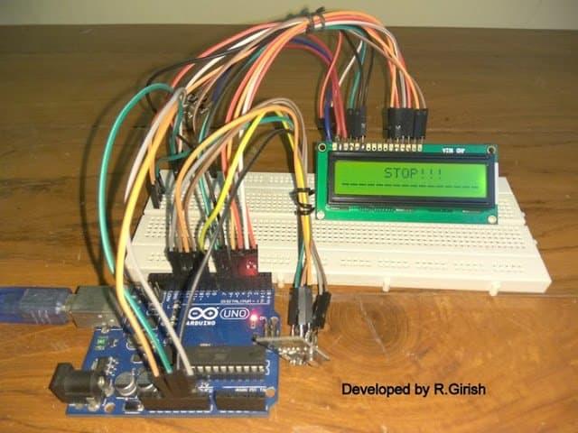 Car Parking Sensor Alarm prototype