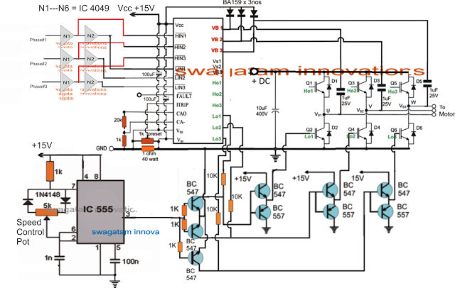 Universal Esc Circuit For Bldc And Alternator Motors