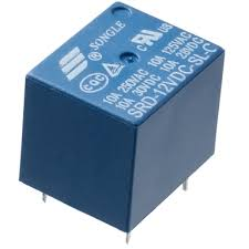 Relay image blue color