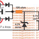 How to make a crank flashlight circuit