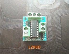 L293D - Line Follower Robot Circuit using Arduino