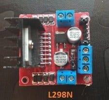 L298N 1 - Line Follower Robot Circuit using Arduino